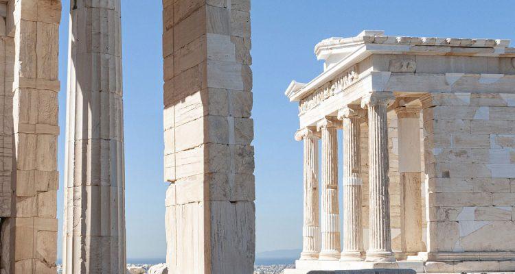 Met een prive jet naar Athene