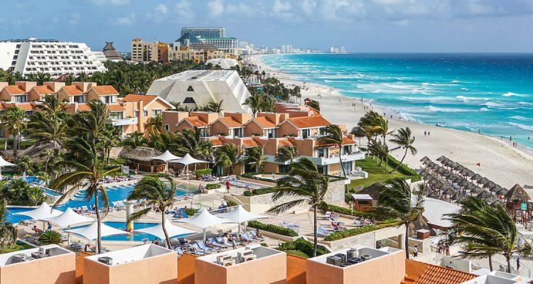 Met een prive jet naar Cancun