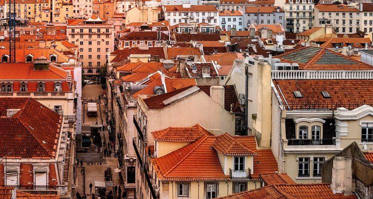 Met een prive jet naar Lissabon