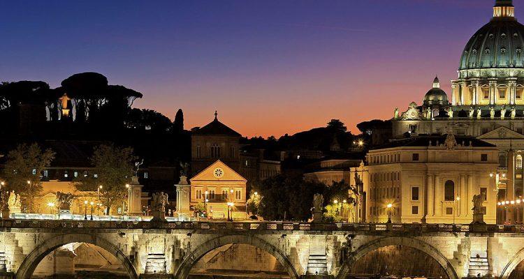 Met een prive jet naar Rome