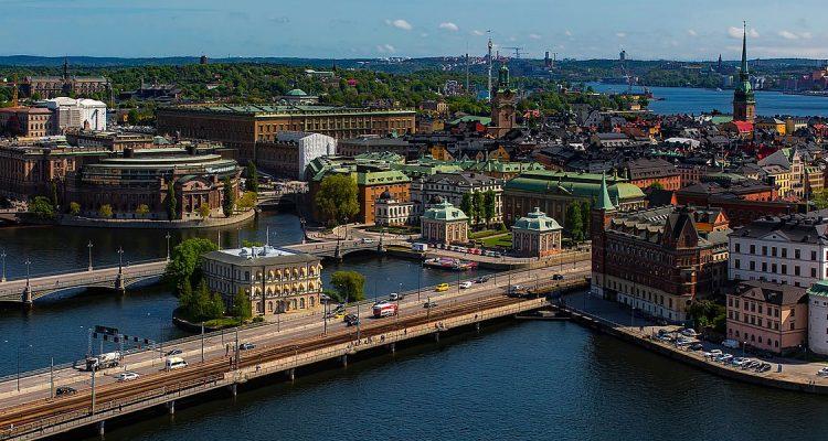 Met een prive jet naar Stockholm