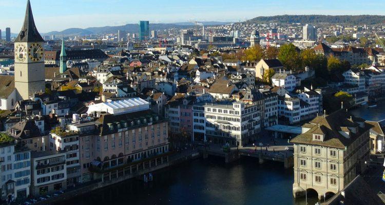 Met een prive jet naar Zurich