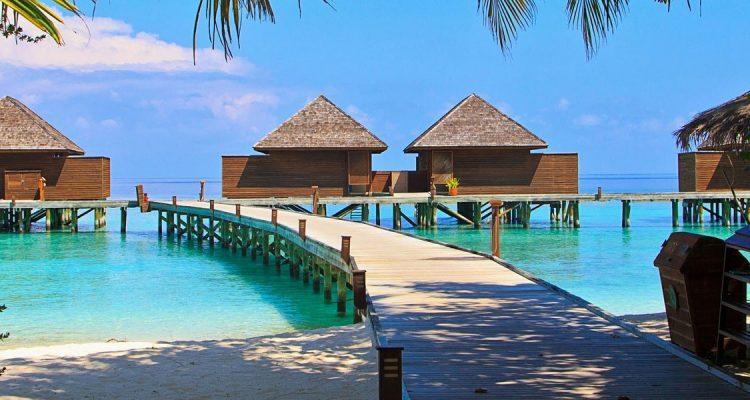 Met een prive jet naar de Maladiven